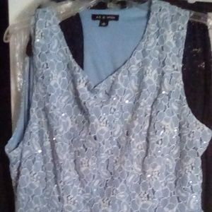 Baby Blue Homecoming Dress
